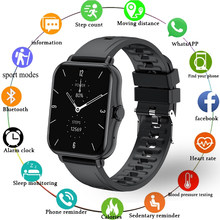 LIGE P7 1.69 inch Smart Watch Men Full Touch Fitness Tracker Blood Pressure Sports Smart Clock Women Smart watch for Android ios