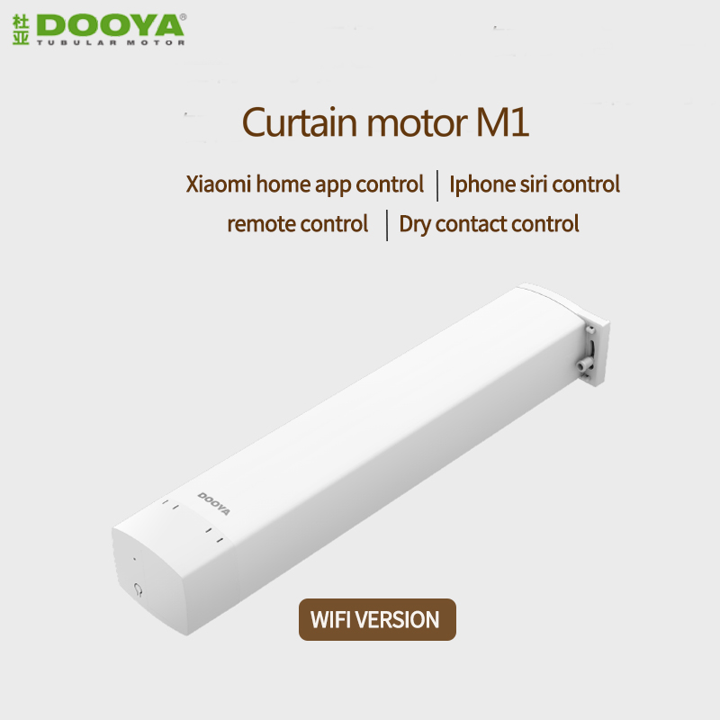 Original Dooya M1 DC Electric Curtain Motor, Xiaomi App  Siri Remote Control  Control DC100V-240V For Smart Home Automatic