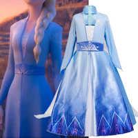 2 trajes Cosplay para chicas Vestido de los niños fiesta de Navidad Disfraz de Halloween papel jugar Vestido de los niños traje de niña