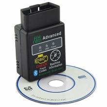 V2.1 ELM327 HH OBD2 OBDII бензиновый авто Bluetooth Android Torque/PC диагностический инструмент для сканирования Интерфейс автомобильные аксессуары сканер