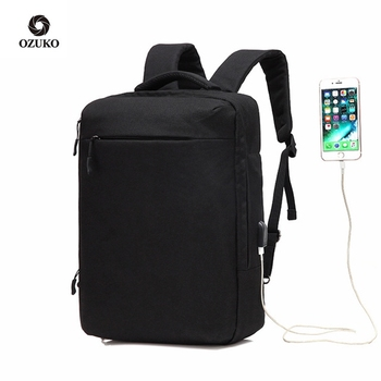 Causal Men Laptop Backpack Water Repellent Schoolbag for Teenager Student Casual Style Backpack Women Travel Mochila Rucksack