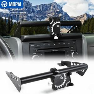 Image 1 - MOPAI GPS Stand Halter für Jeep Wrangler JK Auto Handy Unterstützung Halter Zubehör für Jeep Wrangler JK 2007 2008 2009 2010