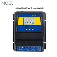 אוטומטי ATS כפולה מתג העברת כוח שמש מטען Controller עבור מערכת רוח שמש DC 12V 24V 48V AC 110V 220V on/off רשת
