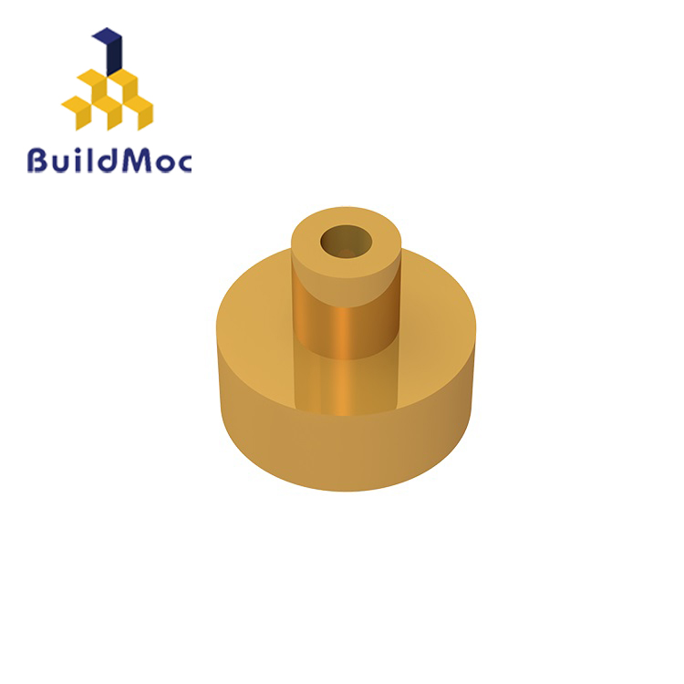 BuildMOC 20482 Tile Round 1 X 1 With Bar And Pin Holder For Building Blocks Parts DIY Educational Creative Gift Toys