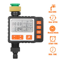Digital Water Timer Programmable Outdoor Single Outlet Automatic On Off Water Faucet Hose Timer Irrigation System Controller