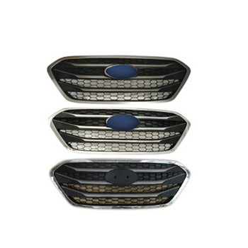 ABS Front Grille Around Trim Racing Grills Trim front grille Refit around trim trim grills Racing.For Hyundai ix35 2013-2015 фото