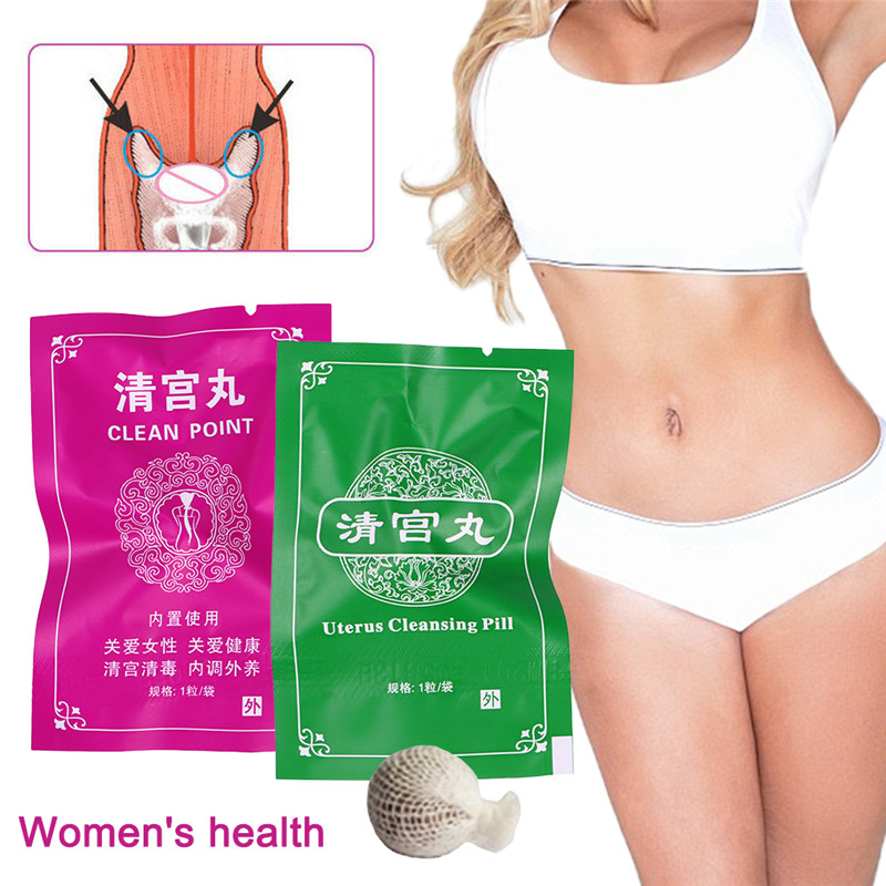 1/6Pcs 2 Color Pack Swab Tampons Feminine Hygiene Vagina Tampons Discharge Toxins Women Health Care Yoni Pearls In Stock