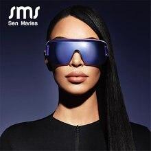 Lunettes de soleil Vintage surdimensionnées pour hommes et femmes, nouvelle mode, miroir argenté, lunettes de pilote, nuances UV400