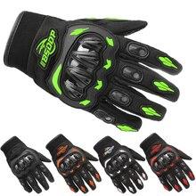 Перчатки для мотоциклистов, дышащие, полный палец, гоночные перчатки, для спорта на открытом воздухе, защита для верховой езды, кросс, перчатки для езды на велосипеде, Guantes Moto