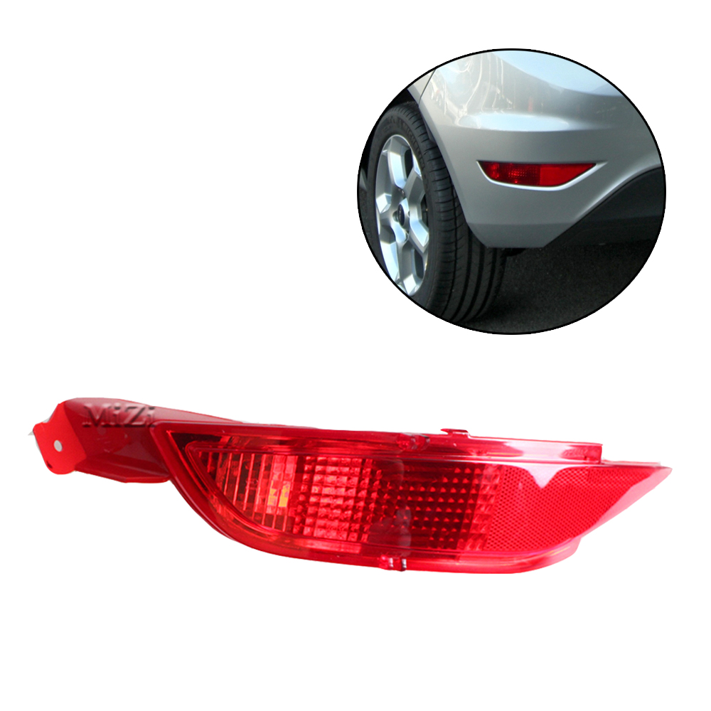 MZORANGE заднего бампера светильник для Ford/Fiesta Mk7 2009 2010 2011 2012 2013 2014 задний отражатель лампы стоп светильник задний противотуманный светильник s