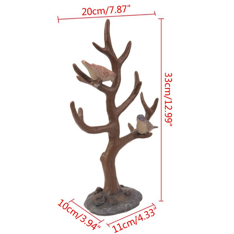 Wooden jewelry organizer jewelry tree Bracelets Necklace Organizer Stand jewelry tree 20 33cm in Jewelry Packaging Display from Jewelry Accessories