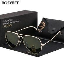 Высокое качество G15, стеклянные линзы для женщин и мужчин, солнцезащитные очки es uv400, авиационный бренд, Классические зеркальные Мужские очки в винтажном стиле, мужские солнцезащитные очки es