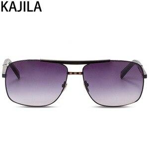Image 5 - Очки солнцезащитные мужские квадратные, винтажные брендовые дизайнерские солнечные очки в стиле ретро, 2020