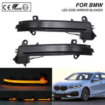 2X Smoke flash LED Dynamic Mirror Blinker Light Turn Signal Lamp For BMW F20 F21 F22 F87 F23 F30 F31 F34 F33 F32 X1 I3 фото