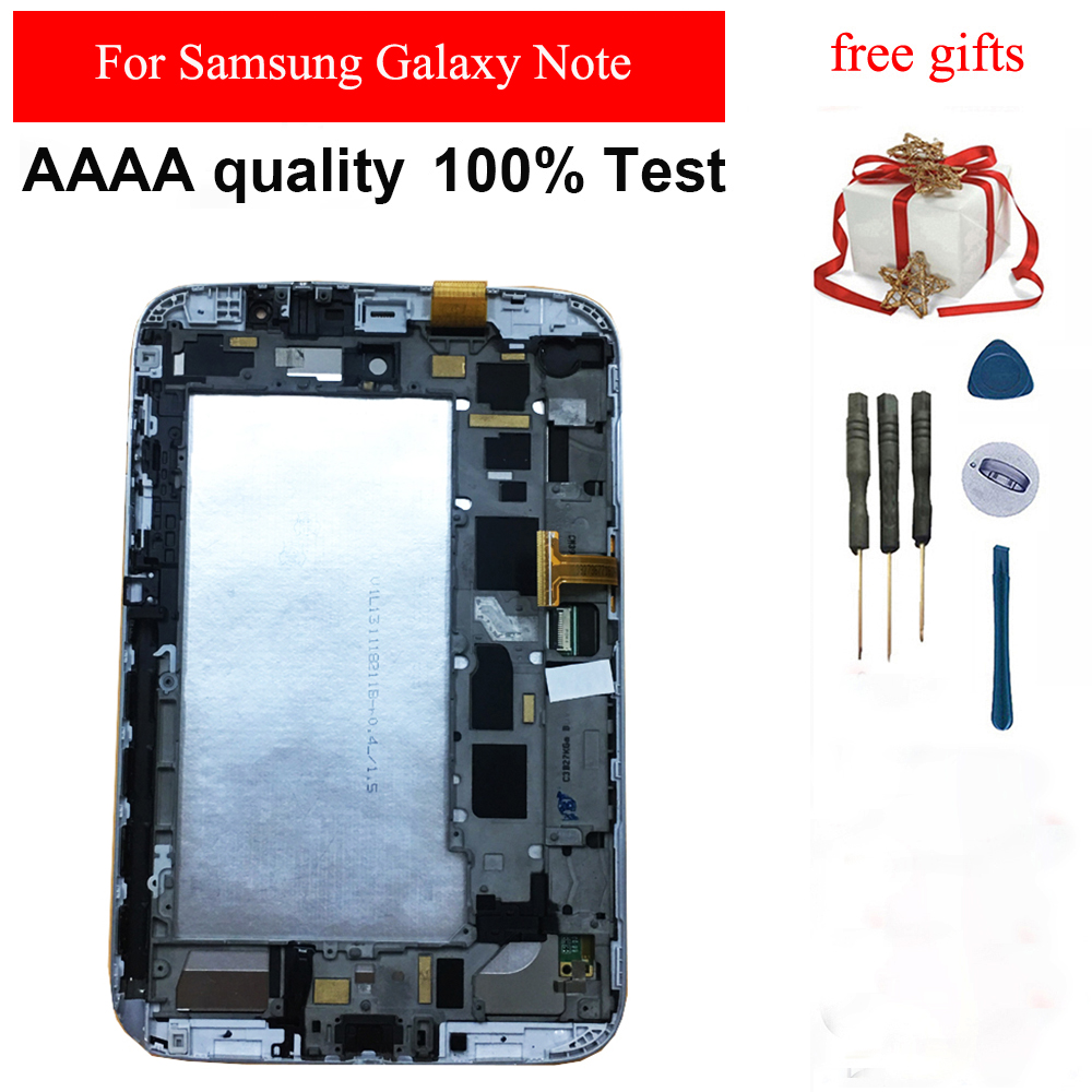 For Samsung Galaxy Note 8.0 GT- N5110 LCD Screen N5110 N5100 LCD Display Touch Screen Sensor Digitizer Glass Assembly Frame