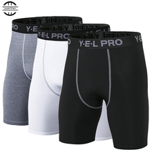Yuerlian Hot Sale Quick Dry Gym Sport Leggings Crossfit Mens Shorts Soccer Undercover Jogging Compression Tights Running
