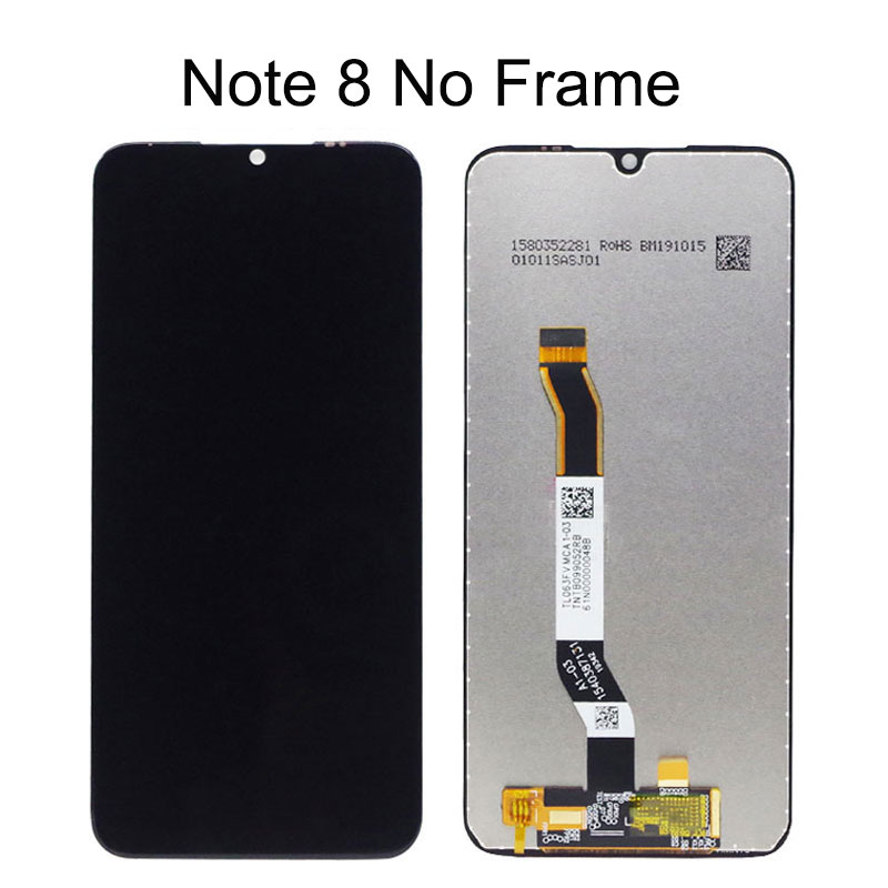 6.3inch For Xiaomi Redmi Note 8 LCD Note8 LCD Display With Touch Screen Assembly For Xiaomi Redmi Note 8T LCD Screen