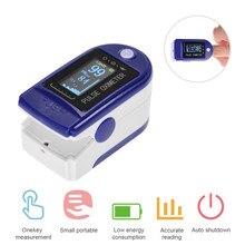 Oxímetro De Pulso para la yema del Dedo, pulsioxímetro familiar, medidor De oxígeno en sangre para el Dedo, contador Digital LED OLED para el hogar