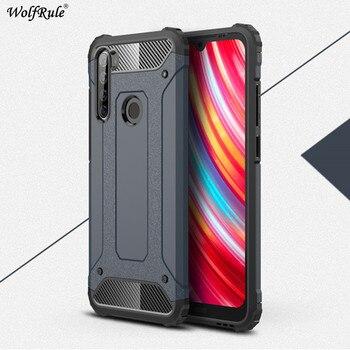 Armadura phone case para xiaomi redmi note 9 s 8 t 8 9 pro max tpu capa & pc bumper proteção para xiaomi redmi note 9 s funda