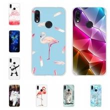 For Xiaomi Redmi 3 3s Case Soft TPU Silicone Note 4 4X 7 Pro Cover Flamingo Patterned Go Coque