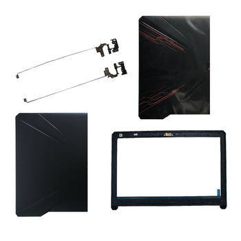New laptop cover For Asus FX80 FX80G FX80GD Fx504 FX504G FX504GD FX504GE LCD top Back Cover/LCD front bezel/Hinges