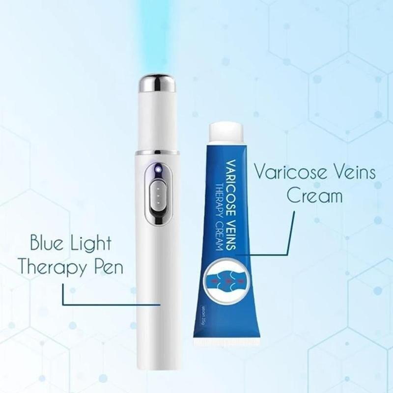 Blue Light Therapy Treatment Set