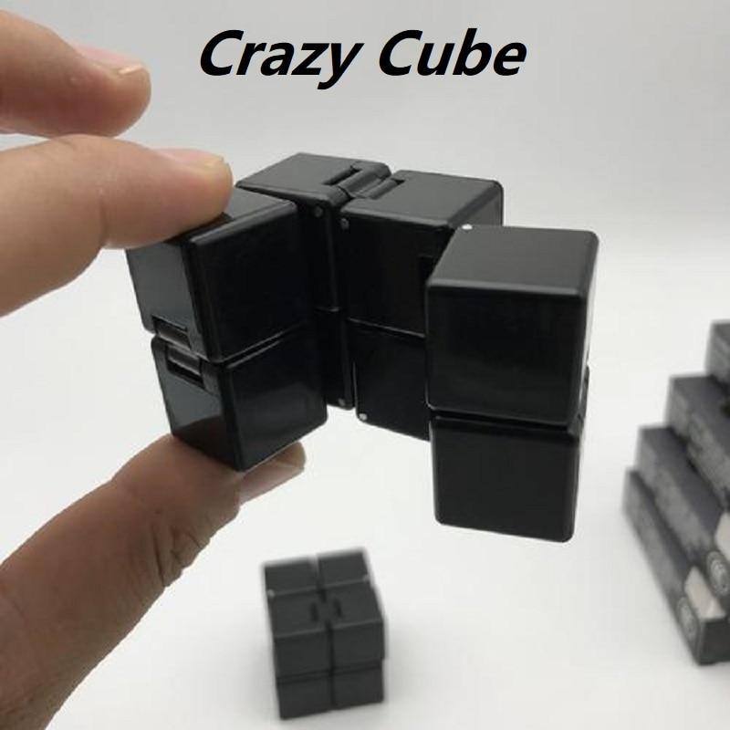 Mini Galaxy ABS Infinity Cube zur Entlastung von Stress Fidget Anti-Angst Stress f/ür Kinder EDC-Spielzeug f/ür Erwachsene Rongchuang Fidget Cube Toy