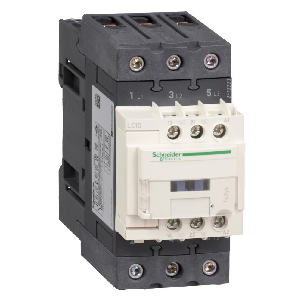 New original authentic export LC1D40AU7 coil 240VAC 50/60Hz three-level contactor 40A load 11KW-220V Standard TeSys D LC1D