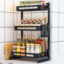 Кухонная полка для специй органайзер приправ кухонная столешница