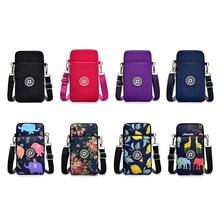 Square Vertical Phone Bag Women's Messenger Bag Multifunctio