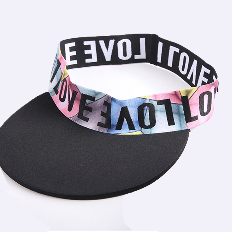 New Arrival Sport Visors Cycling Hiking Tennis Caps Quick-drying Fashion Headband Caps For Women