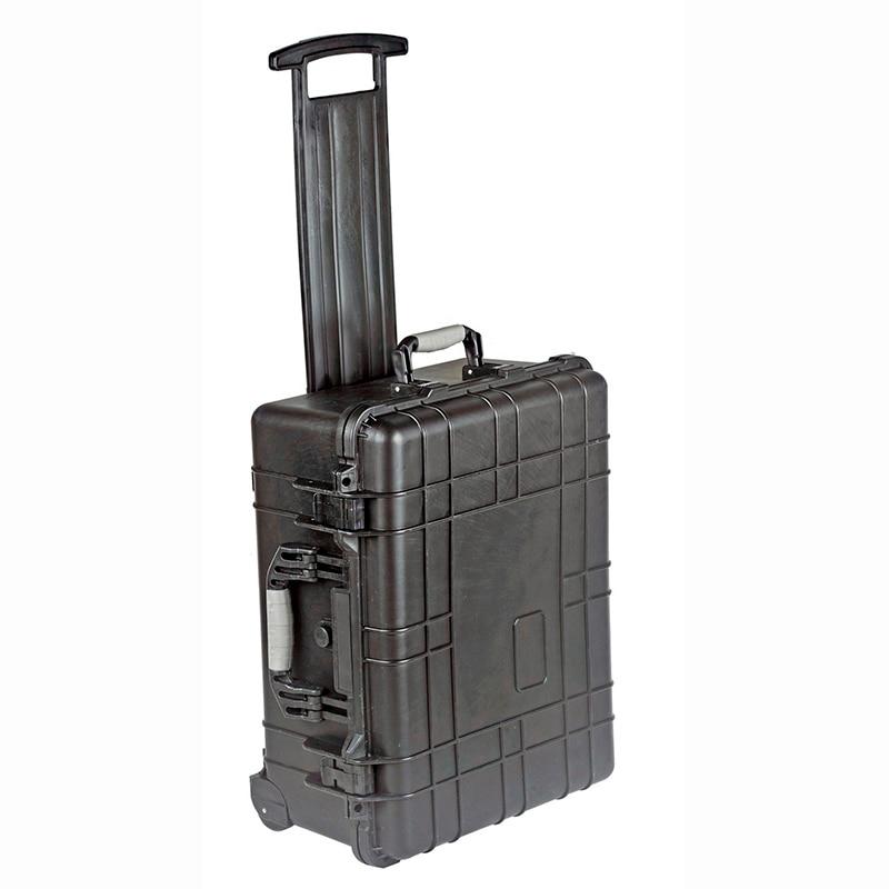 501 * 279 * 193mm veekindla käru ümbrise tööriistakast tööriistaümbris Kaitsekaamera kaitseümbrise varustuskarbis eelnevalt lõigatud vaht