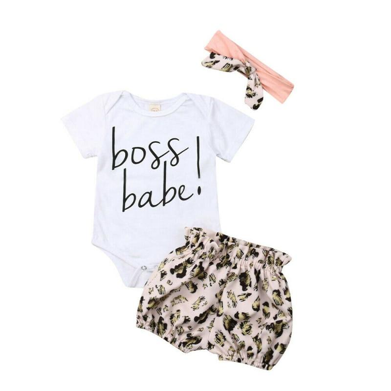 3pcs Baby Girl Off Shoulder Middle-Length Sleeve Tops+Little Cute Love Heart Long Dress+Short Pants Summer Outfit
