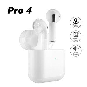 Airpodding Pro 4 Bluetooth Earphone TWS Wireless Headphones HiFi Music Earbuds Sports Gaming Headset For All Smart Phone
