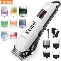 Tagliacapelli elettrico Kemei per uomo tagliacapelli elettrico tagliacapelli professionale Cordless Display macchina taglio di capelli ricaricabile