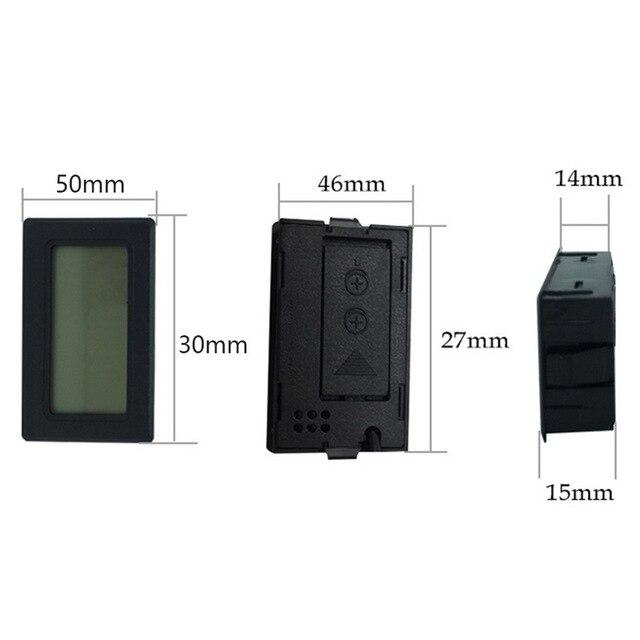 1Pc Mini Indoor Thermometer Digital LCD Temperature Sensor Humidity Meter Thermometer Hygrometer Gauge Fridge Thermometers 2