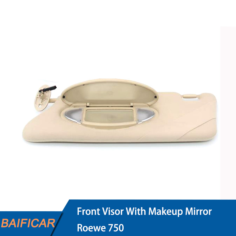 Baificar Brand New Genuine Front Visor With Makeup Mirror Sun Visors With Light Bulb For Roewe 750