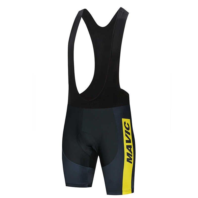 2020 mavic coolmax 9d gepolsterte tragerhose stobfest mtb fahrrad shorts rennrad calções ciclismo maneira pele