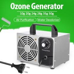 Générateur d'ozone 28 g/h 220V 110V | Nettoyeur d'air, désodorisant d'eau, stérilisation, Purification de l'air, ozonateur professionnel prise US EU