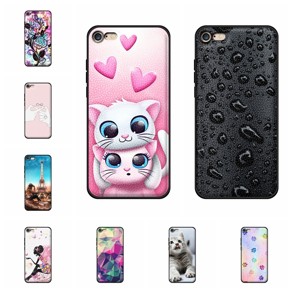 For Apple iPhone 6 Plus Cover Soft TPU Leather 6s Case Love Patterned Coque Bag