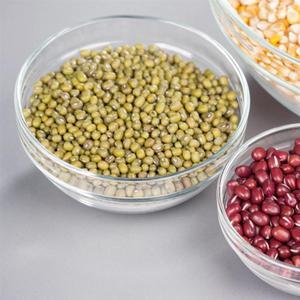 Image 3 - 5 uds. De vidrio resistente al calor conjunto de Boles para ensalada, cuenco fresco, recipiente de comida de cocina con tapa, Color aleatorio