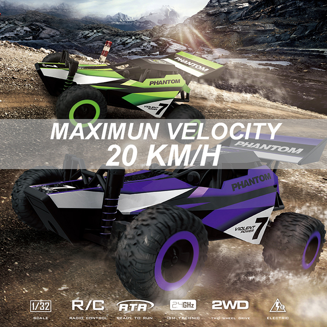 RTR Toys RC Racing Car 1/32 2.4G High Speed Remote Control Car 20KM/H Mini RC Drift Model New Years Gift For Boy