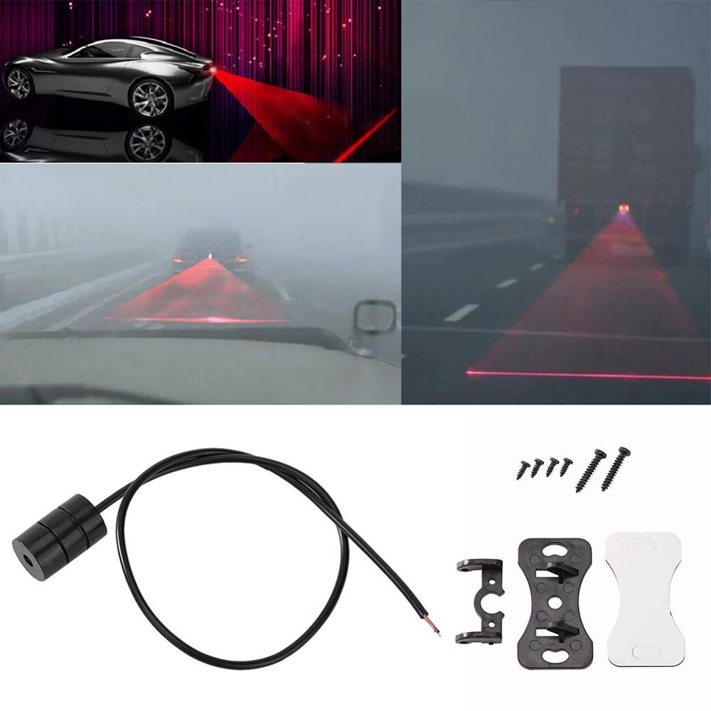 Anti Kollision Auto Laser Rücklicht Nebel Lichter Parkplatz Lampe Warnung Licht