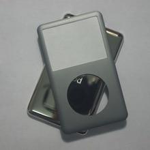 Dla iPod classic grey 80GB 120GB 160GB 128GB 256GB tylna pokrywa + przednia okładka szary