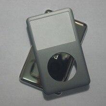 Per iPod classic grigio 80GB 120GB 160GB 128GB 256GB copertura posteriore + anteriore di caso della copertura grigio