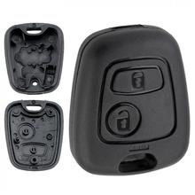 Buttons Car Remote Key Shell with 307 Blade fit for Citroen C1 / C2 C3 C4 XSARA Picasso Peugeot 107 207 407