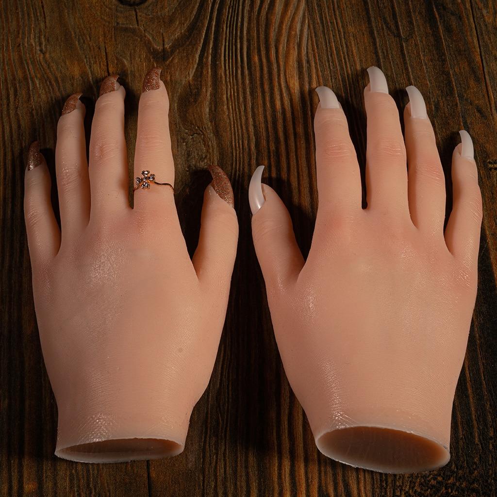 Nail Art Ferramenta Formação Prática Dedo, Dedos