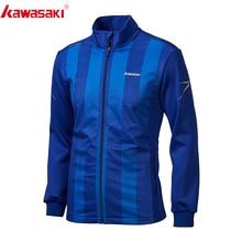 Kawasaki Мужская куртка для бега, рубашка для фитнеса с длинным рукавом, тренировочная майка для бега, спортивное пальто, куртки для бега на молнии, JK-R1810