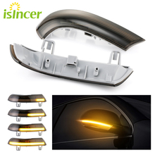 2pcs Side Mirror indicator Dynamic Sequential Flowing LED Turn Signal Light For VW GOLF 5 Plus Jetta MK5 Passat B6 EOS