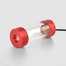 Syscooling aluminum acrylic water cooling filter G1/4 inner thread liquid for PC hard tube system